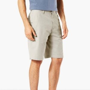 Dockers MENS Perfect Short Classic Fit 38 - Gray